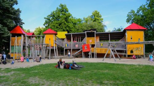 German playgrounds are awesome