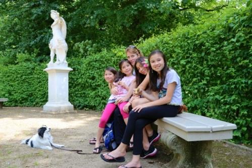 No worries at Sanssouci